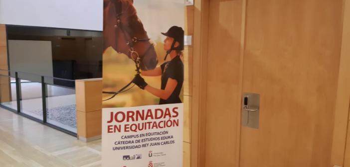 I Jornadas en Equitación celebradas en la Universidad Rey Juan Carlos de Madrid